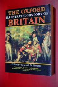 THE OXFORD ILLUSTRATED HISTORY OF BRITAIN 牛津画报英国历史画报  英文原版 16开插图版646页 重3公斤