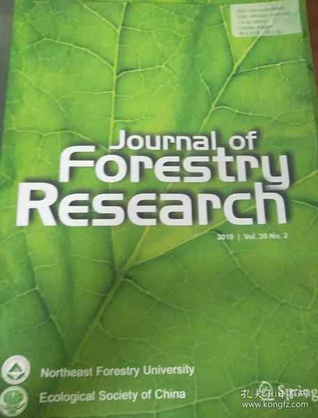 Journal of Forestry Research 2019骞�2����涓���绌讹��辨����锛�