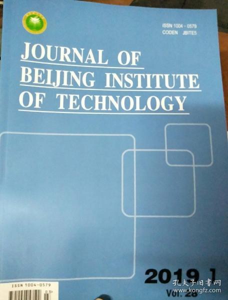 JOURNAL OF BEIJING INSTITUTE OF TECHNOLOGY 2019骞�1��锛��辨����锛�