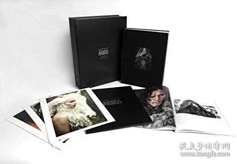 预售权力的游戏摄影图片集豪华限量编号签名版 Photography of Game of Thrones limited edition