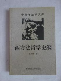 《西方法哲学史纲》