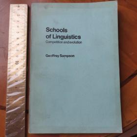 Schools of linguistics 语言学流派 英文
