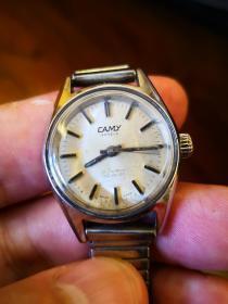 卡美  瑞士手动手表  表头全原装