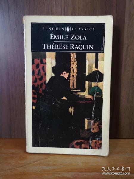 ÉMILE ZOLA  THÉRÈSE RAQUIN 【法文原版】