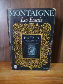 MONTAIGNE  LES ESSAIS  TOME 3 【法文原版】