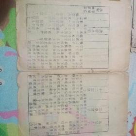 清早期古籍标本一页!