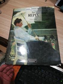 英文原版油画画册  Ilya  REPIN列宾俄罗斯画家作品集