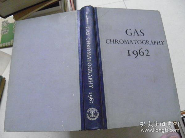 GAS CHROMATOGRAPHY 1962