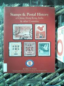 Stamps&Postal History of China,HongKong,India&other Countries
