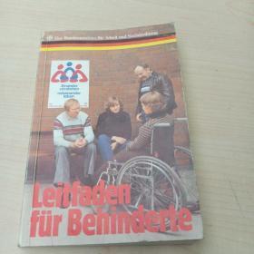 Leitfaden fur Behinderte 1984