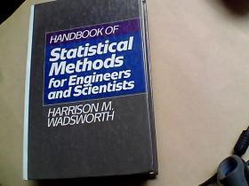 HANDBOOK OF Statistical Methods