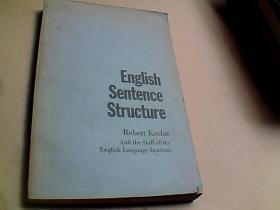 英语句结构    英文版