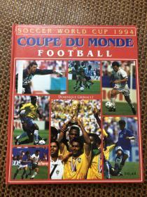 原版足球画册 solar 94世界杯 书脊有裂口,内页完好,折价出售
