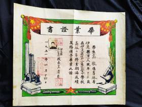 1951年毕业证书(带照片)