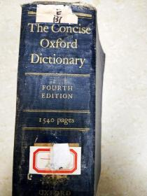 7730 the concise oxford dictionary of current english