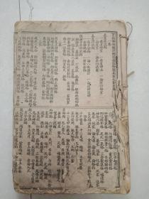 《神峰通考命理正宗》后有缺页,有轻微破损。