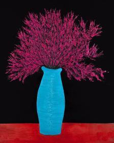 【首发预售】朦胧诗人的代表之一、画家 芒克 2020年原创丝网版画作品一幅(纸面尺寸:60x80cm、画心尺寸:52x65cm)HXTX314871