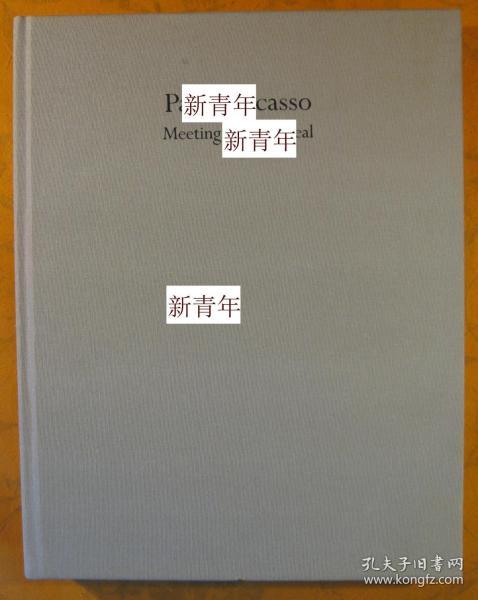 稀缺, 《 毕加索的绘画集 》100多幅彩色与黑白图录,约1985年出版