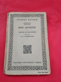 民国英文原版:DON QUIXOTE(故事复述:唐吉坷德,1926年版)