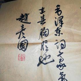 赵彦国书法