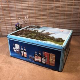 80年代老铁盒 铁皮盒子 怀旧收藏复古vintage