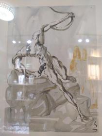 19999达利早期名画,萨尔瓦多·多明哥·菲利普·哈辛托·达利-多梅内克(西班牙语:Salvador Domingo Felipe Jacinto Dali是著名的西班牙加泰罗尼亚画家,因为其超现实主义作品而闻名。达利是一位具有非凡才能和想象力的艺术家,他的作品把怪异梦境般的形象与卓越的绘图技术和受文艺复兴大师影响的绘画技巧令人惊奇地混合在一起,可拍细节图