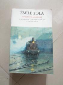 EMILE ZOLA LES ROUGON-MACQUART(32开本)