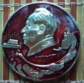 毛主席像章(反到底战士永远忠于毛主席)