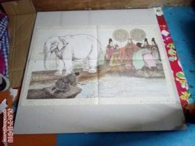 六年制小学课本语文第五册教学挂图:称象