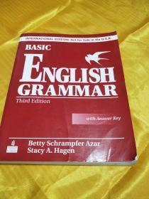 Basic English Grammar 3rd Edition (Book & CD with Answer Key)  有光盘