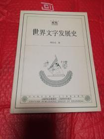 世界文字发展史    2003年一版一印仅印4100册