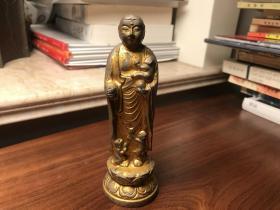 日本铜佛像