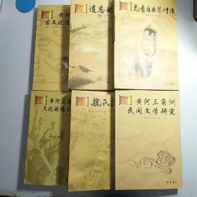 黄河三角洲文化研究书库 6本不重复 合售 见描述