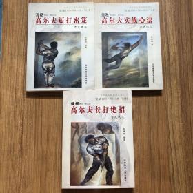 高尔夫大师系列丛书:《高尔夫长打绝招》《高尔夫短打秘笈》《高尔夫实战心法》三本合售