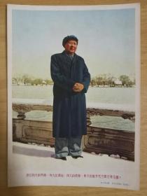 我們偉大的導師偉大的領袖偉大的統帥偉大的舵手毛主席萬壽無疆 【宣傳畫】