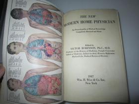 THE NEW MODERN HOME PHYSICIAN(1947年英文原版:现代家庭医生)