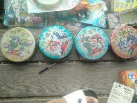 """稀有zz少年馆""""光碟包""""游戏王卡原封未拆 十余年库存老货原封未拆,里面好像是两张闪卡和一些普卡,特价出38一盒,绝对玩具收藏佳品剩下三个都是原包装"""