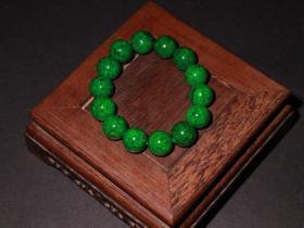 清代-珍贵材质圆珠手串一条