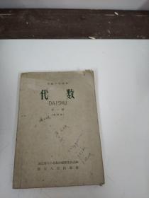 高级中学课本代数第一册
