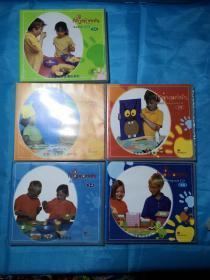 figerprintsCD盘(1A、2A、2B、3A、3B)共8张