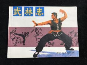 《武林志》 岭南美术出版社 连环画 八十年代 一版一印