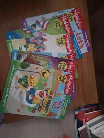 Highlights HIGH FIVE 2018 儿童读物杂志2018年5本(2,3,7,8,9),2017年1本(12)【6本合售】
