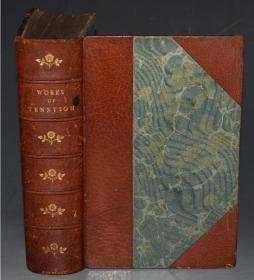 1899年- Works of Alfred Lord Tennyson《丁尼生诗集》全蚀刻版画插图本 3/4摩洛哥羊皮精装豪华本