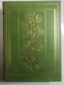 1978年Franklin Library 富兰克林图书馆25周年绝版限量The Origin of Species达尔文《物种起源》达尔文全真皮,英文原版,真丝缎面内衬,三边刷金,精美插图