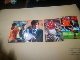 足球周刊 球星卡 2006年(4张) + 2007年(35张)+ 2008年(35张)+ 2009年(11张)+ 2010年(3张)88张合售
