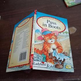 英文原版绘本Puss in Boots 穿靴子 的猫【小32开精装】