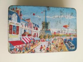 80年代法国巴黎铁盒