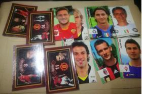 足球周刊 球星卡 T6(4张) +T7(7张) 11张合售