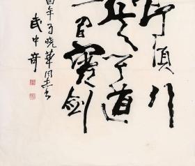 武中奇书法