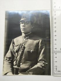 来自侵华日军联队在上海,江苏省相册,此为其中一张,日军军官较大幅照片,清晰度较高